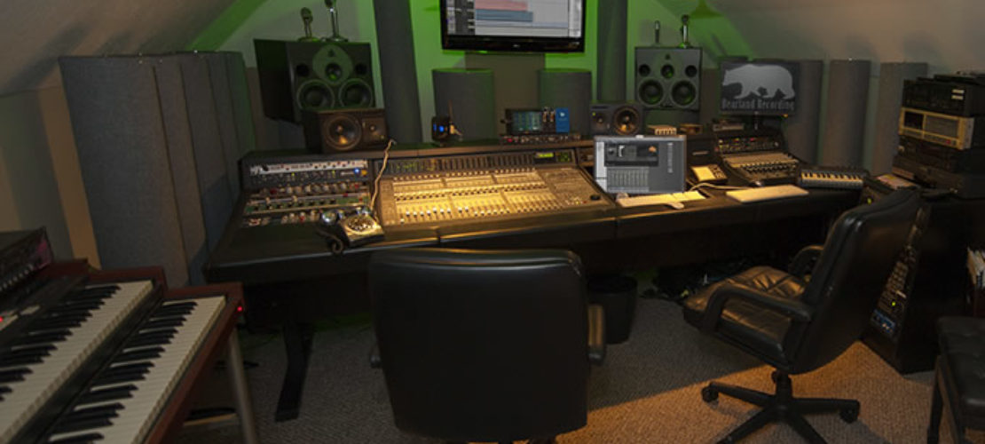 Bearland Recording Studio control room